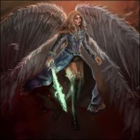 Galael - Angel Of Redemption by Corey-H