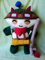 Captain Teemo v.2.0 Plushie by XOFifi