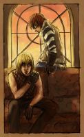 matt and mello by missmands