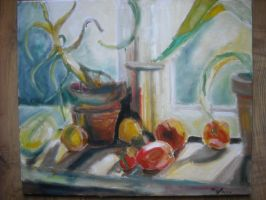 Experimenting with still-life by Silinta9