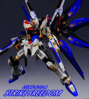 Strike Freedom [Build Poster II] by Chaos217