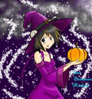 Cute Anime Witch by Rcdevils