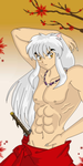 Sexy Inuyasha by HallowShell15