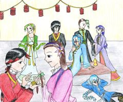 Chinese New year-Contest entry by Uria86