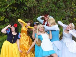 Crazy Disney Girls by MysteriousMaemi