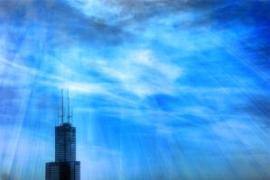Sears Tower stands tall by spudart