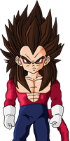 Kid Vegeta SSJ4 by Dairon11
