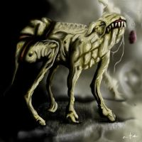 Yellow Dog of Memory 3 by The-Misfit-Toy