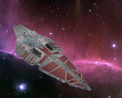Republican Star Cruiser by DiMOn-Gorpinchuk
