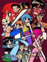 Scott Pilgrim vs. the World: The Vector by animereviewguy