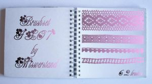 Brushset JL07, Lace by Missverstand