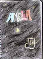 Cover Page I created for my sketch book by CrazyALN