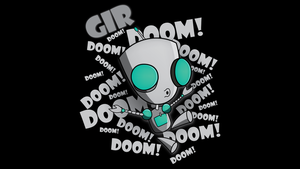 GIR DOOM 1920x1080 Background by Chaossity