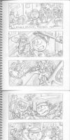 Pac-Man Mixtape Storyboard 10. by Atariboy2600