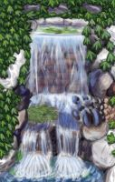 St. Clair Waterfall by Rose--Wolf