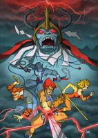Thundercats Print by spewtank