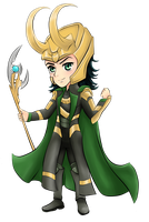 Loki - Avengers by twillis