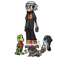 Pokeathlon Contest Group by Kame-Ghost