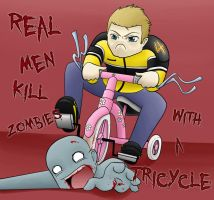Real Men... by dragonfreako