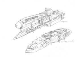 Battleship and Assault Monitor by TugoDoomER