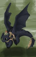 HTTYD - Touchdown by samasamu