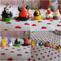 Cupcakes Charms l by pamtamarindo