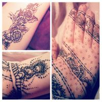 Saturday night henna by Livirific