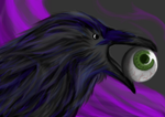 A charm called Nevermore by CrossedRunner
