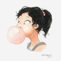 Let's blow a Bubblegum by raultrevino