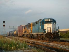 BNSF Hodgkins Local 1, 7-22-10 by eyepilot13