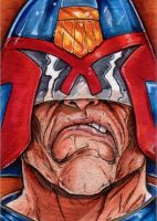 238. Judge Dredd by Christopher-Manuel