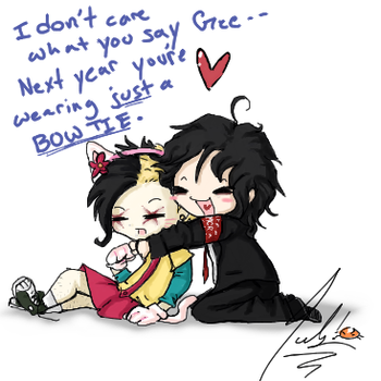 Chibi Frerard Fun by RastaPickney-Juls