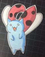 Flying Catbug by HokinaCosplay