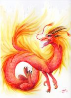 Fire II by Velociraptor-C