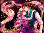 Rapunzel and Flynn by Kay-I
