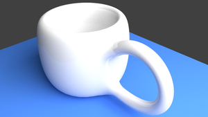 My awesome mug made with blender 2.70 by Archany