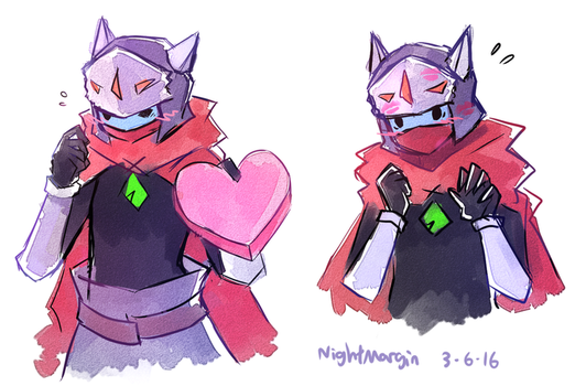 Drifter valentines by NightMargin