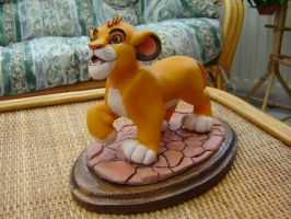 Simba from Lion King by Alaneye