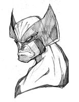 Morning Sketch - Wolverine by RobDuenas