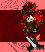 .:SA2:.Pirate Miya by AwkwardlyBored