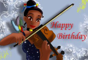 musical birthday by Sonala