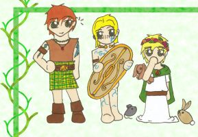Little Celts by reene-karay