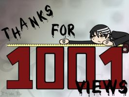 Thanks for 1001 Views by Rio-McCarthy
