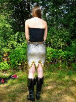 Scale Skirt - Back by MetalArtisan