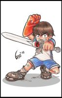 Gio Eliminating evil since1983 by Giosuke