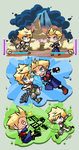 Dissidia Aces R1 - vs. Zell by tomokii