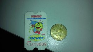 Namco Ticket and Token by spaceman022