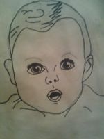 the gerber baby by monkee426