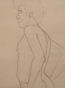31 Day Challenge - Day 28 - Life Drawing 2 by bluebuterflyef