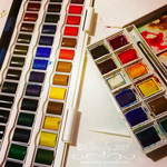 New Watercolors! by Chrisily